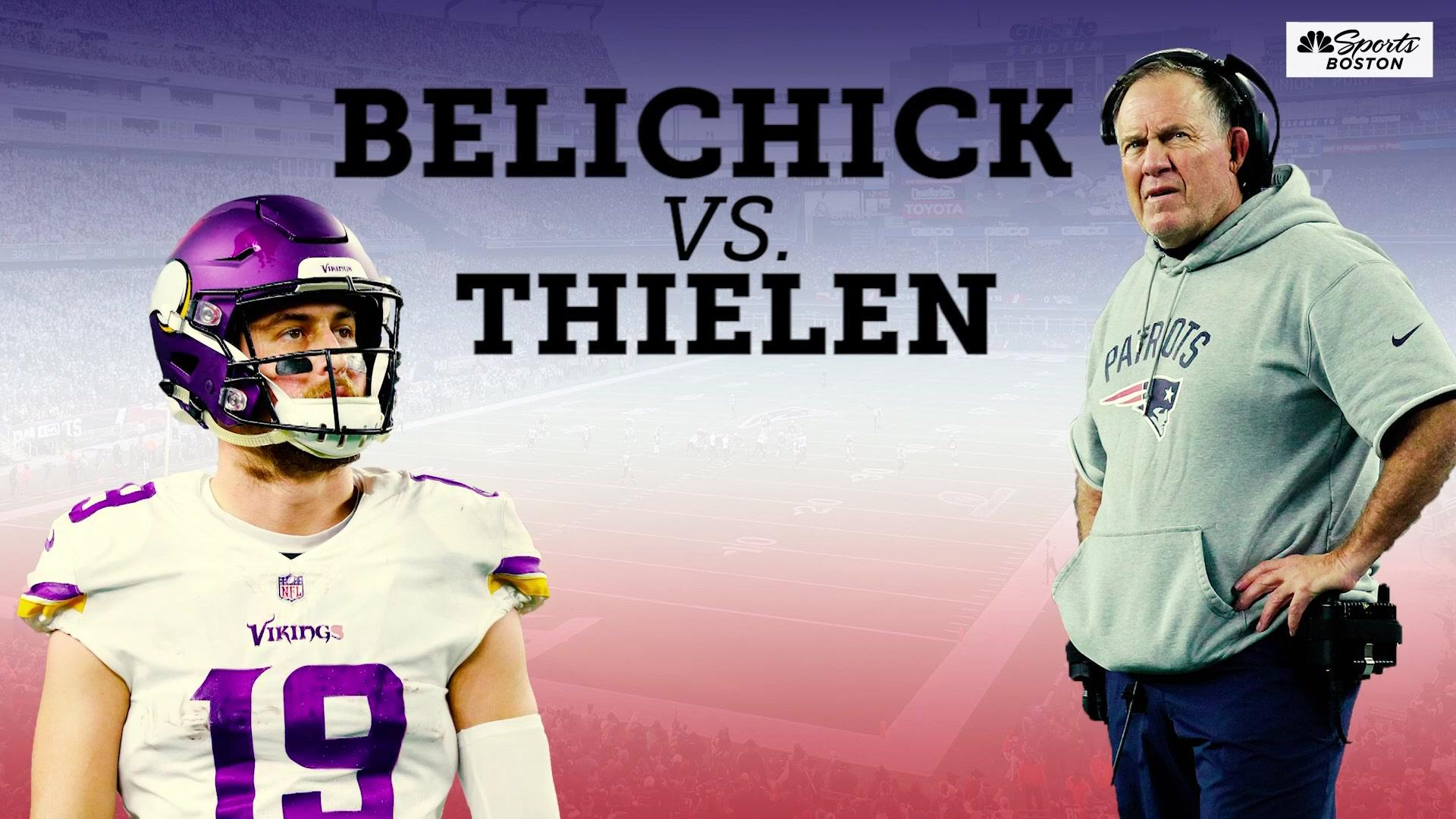 Bill Belichick vs. Adam Thielen: The feud we didn't know we wanted