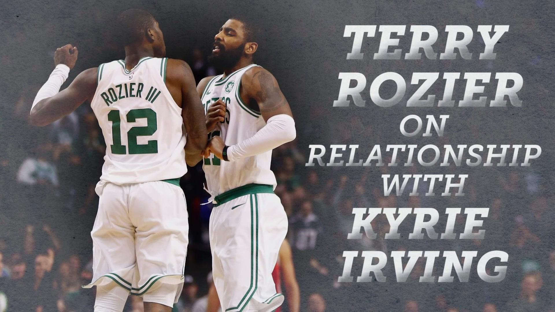 Terry Rozier opens up about relationship with Kyrie Irving