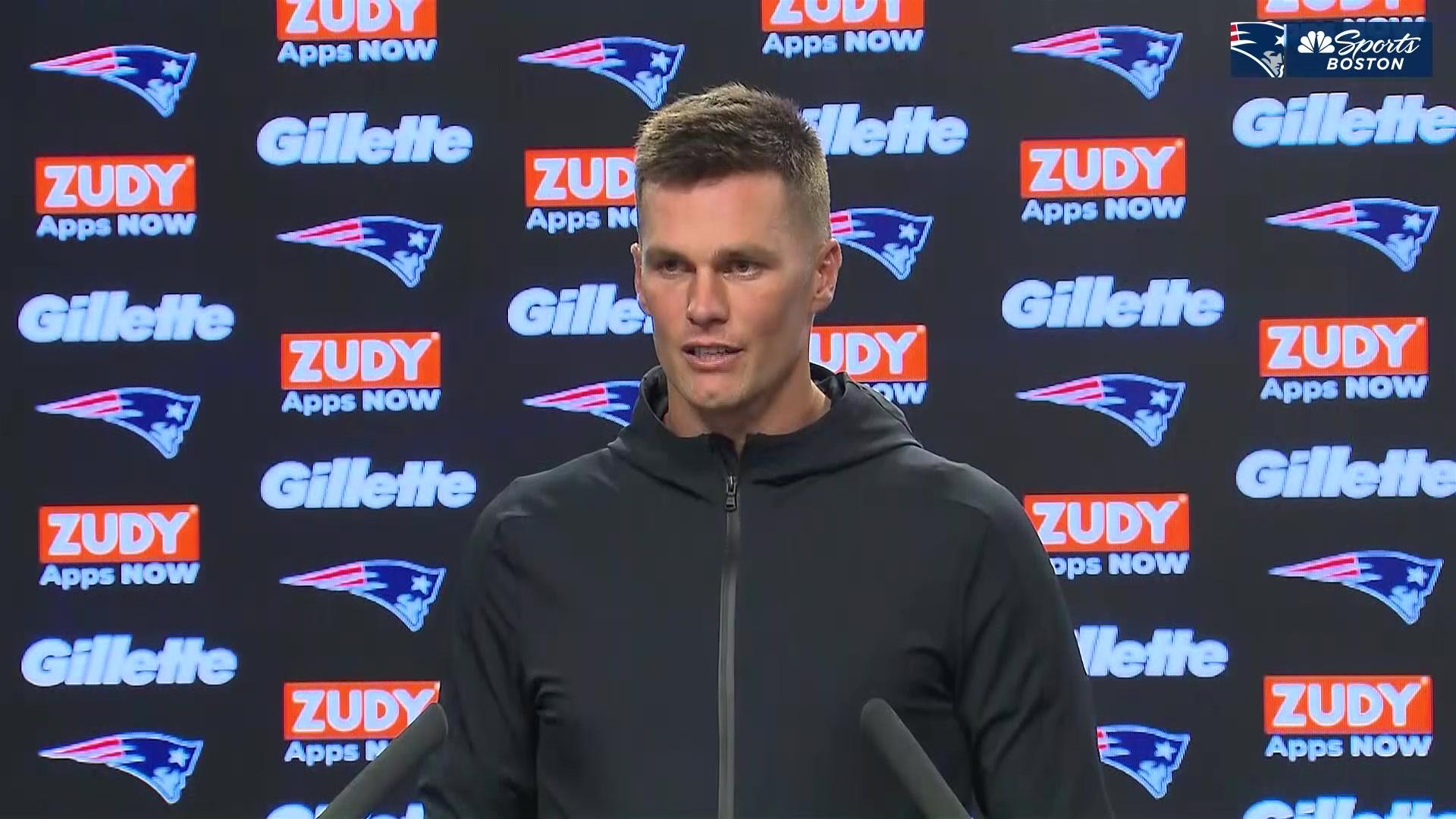 """Tom Brady on Brown: """"Things that don't involve me, don't involve me"""""""