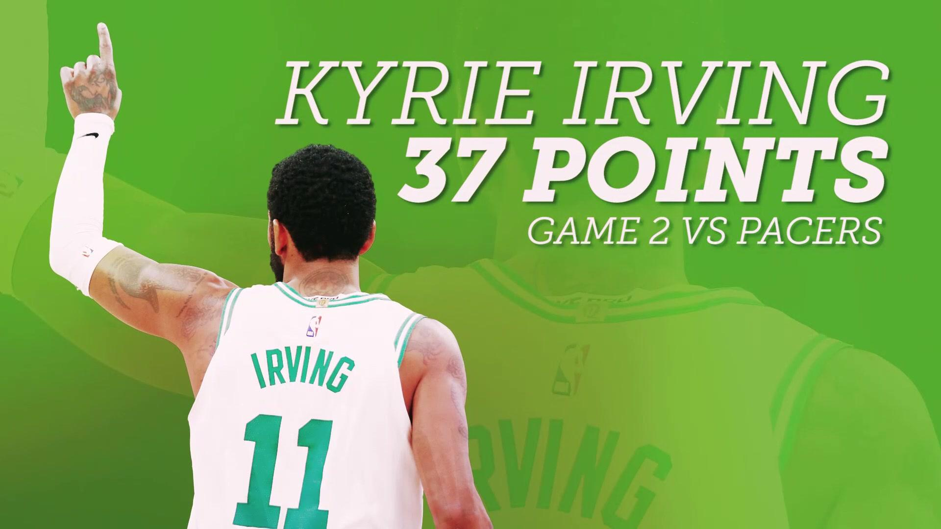 WATCH: Kyrie Irving dazzles with 37 in Game 2 win over Pacers