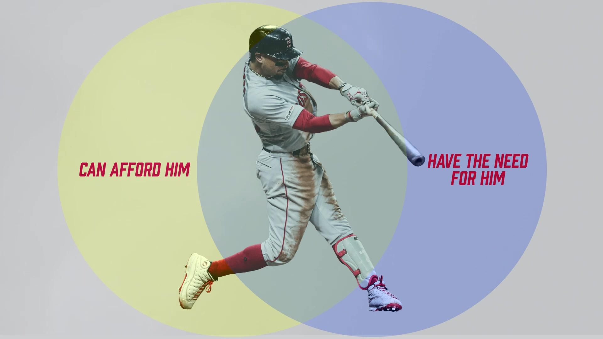 Which teams can even afford Mookie Betts if the Red Sox trade him