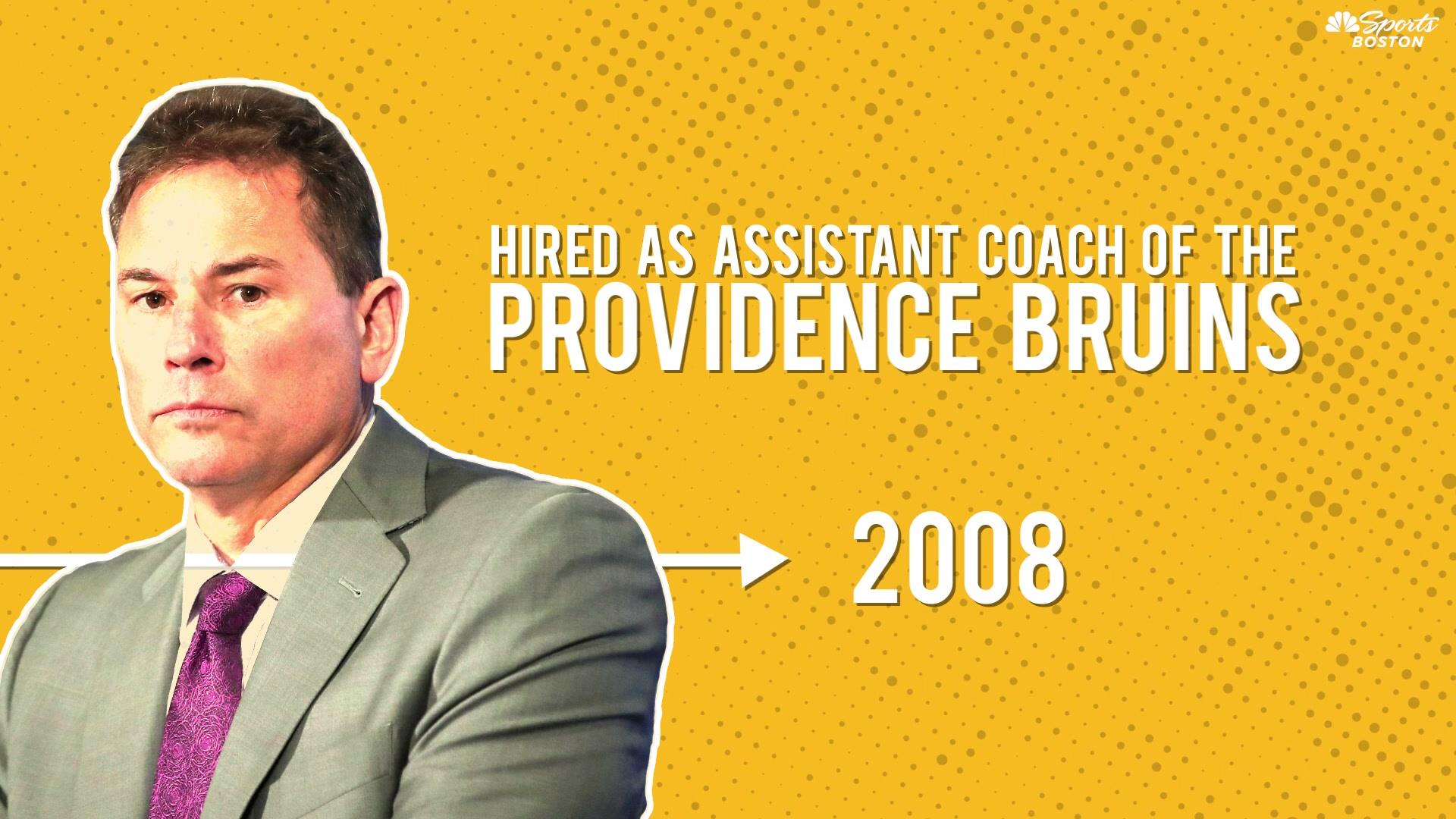 A timeline of Bruce Cassidy's coaching career in the Bruins