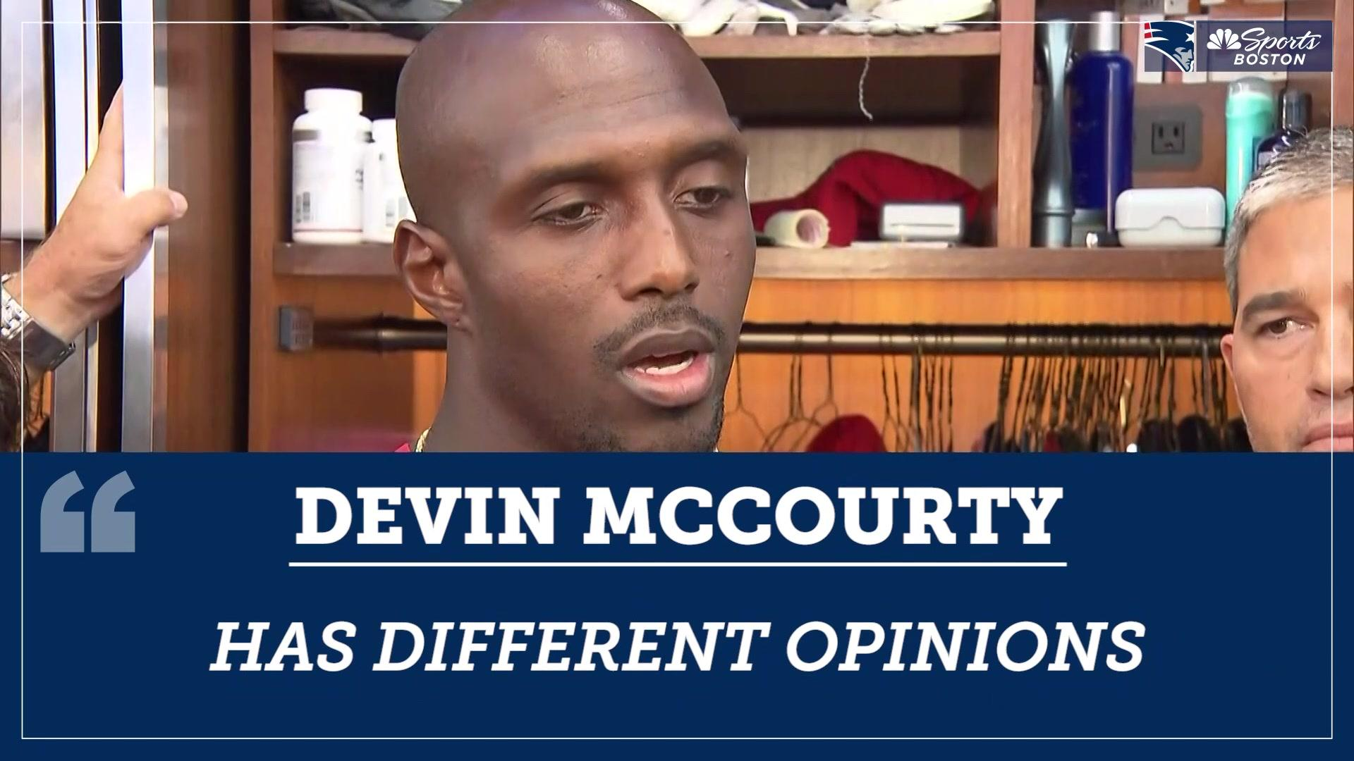 Devin McCourty responds to how Antonio Brown allegations effect the