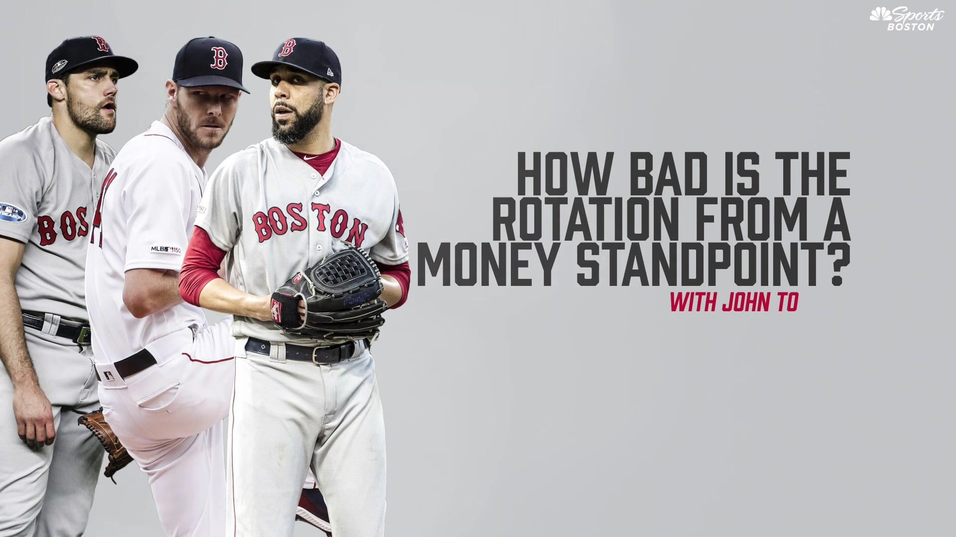 How bad is the Red Sox rotation from a money standpoint?