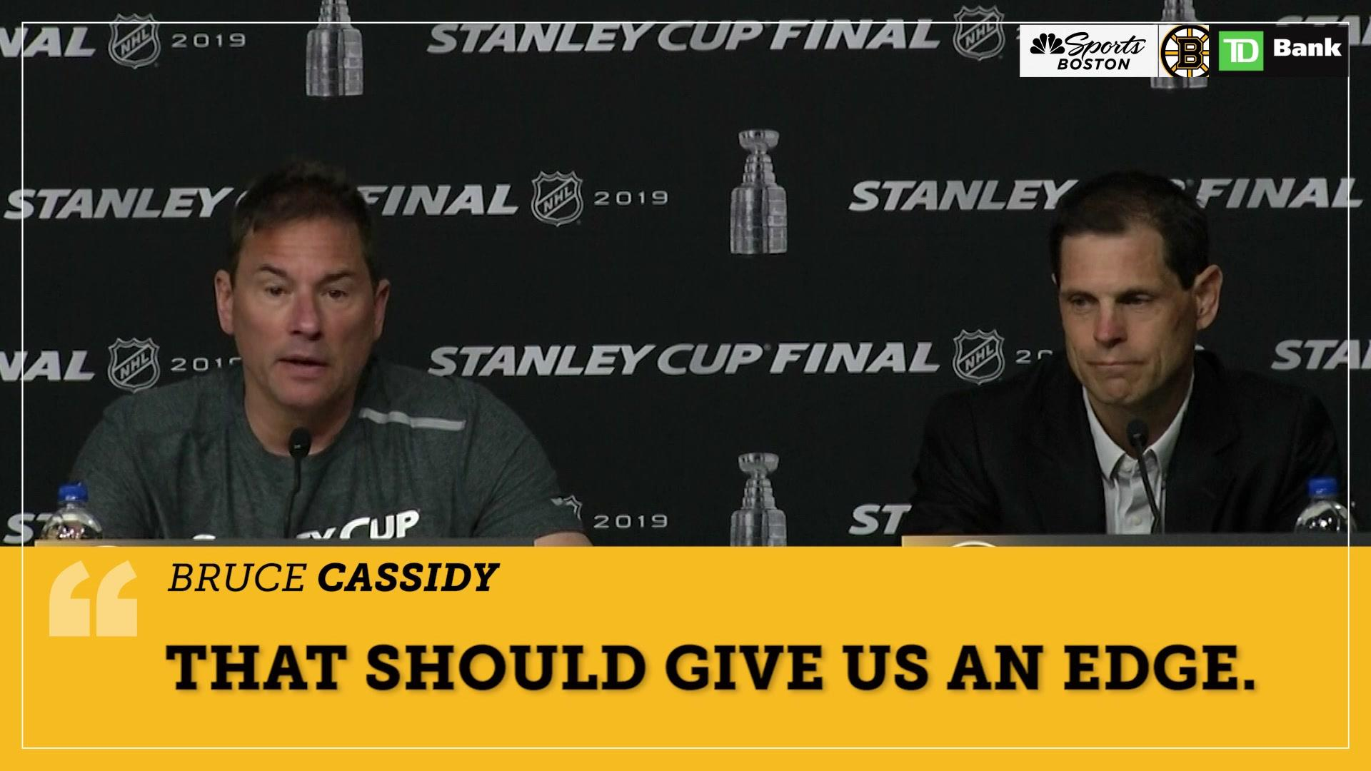 The Bruins biggest advantage over the Blues? Experience.