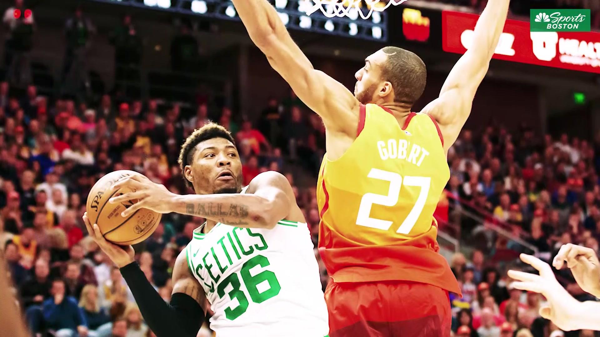 Marcus Smart 'a little' surprised by Al Horford and Kyrie Irving