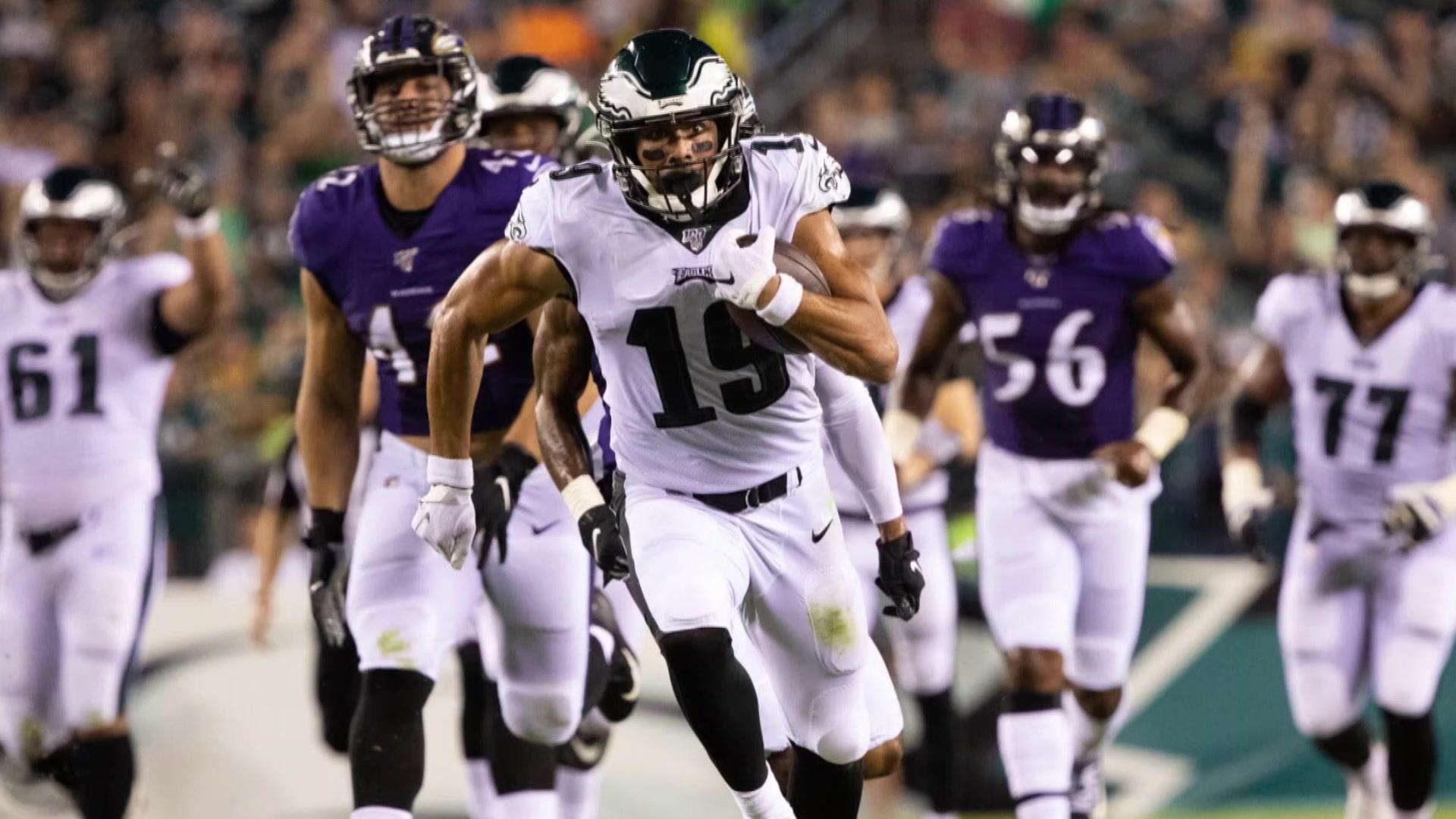 The good, the bad and the really ugly from Eagles-Ravens preseason