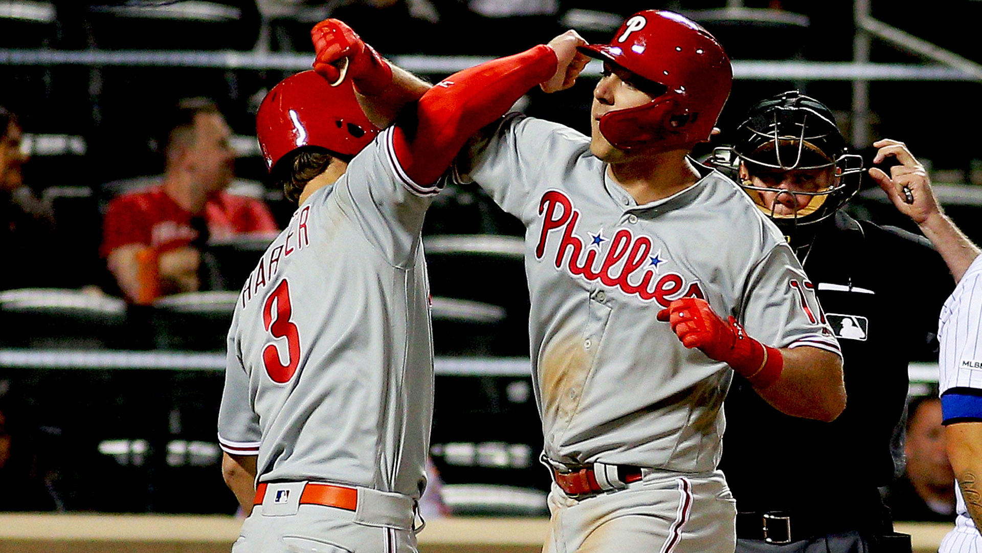 Rhys Hoskins, Phillies stroll out of New York with statement win