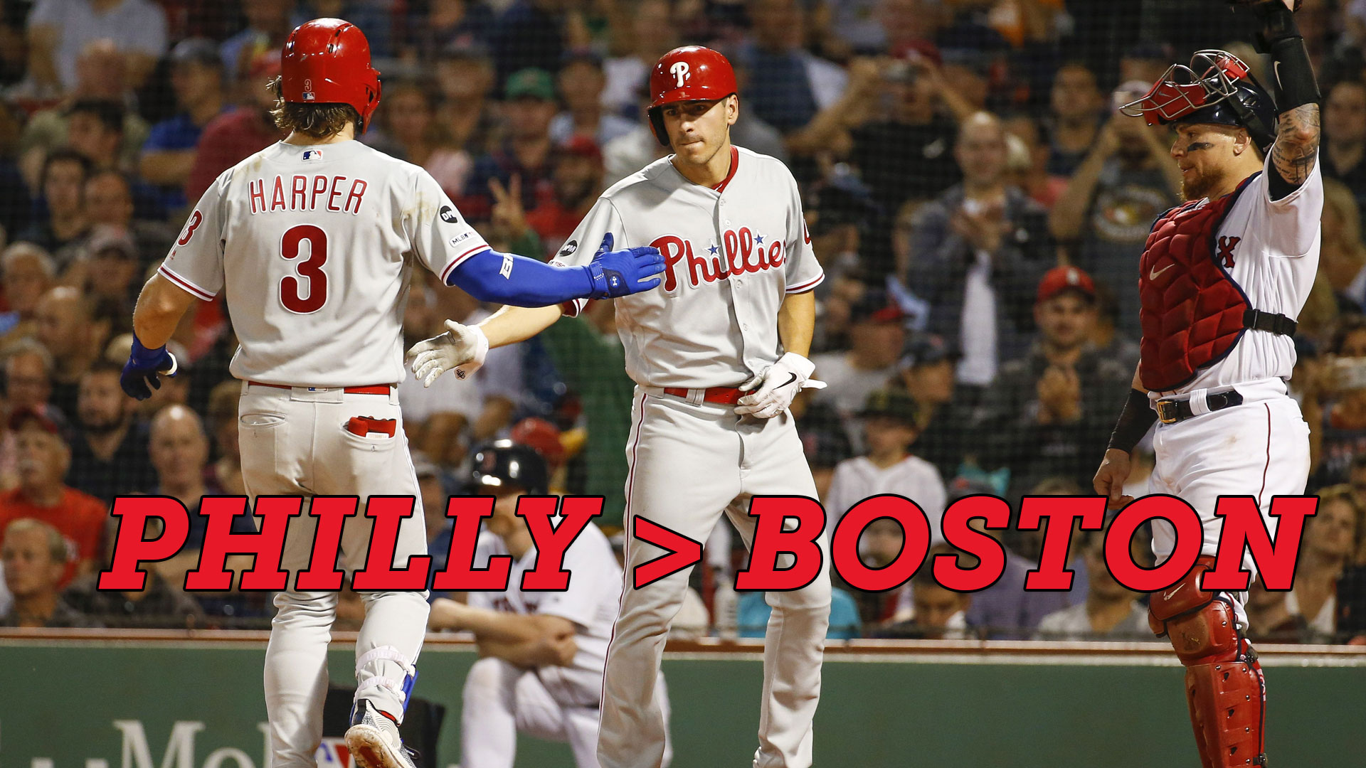 How sweep it is! Phillies first sweep in Boston in 20 years