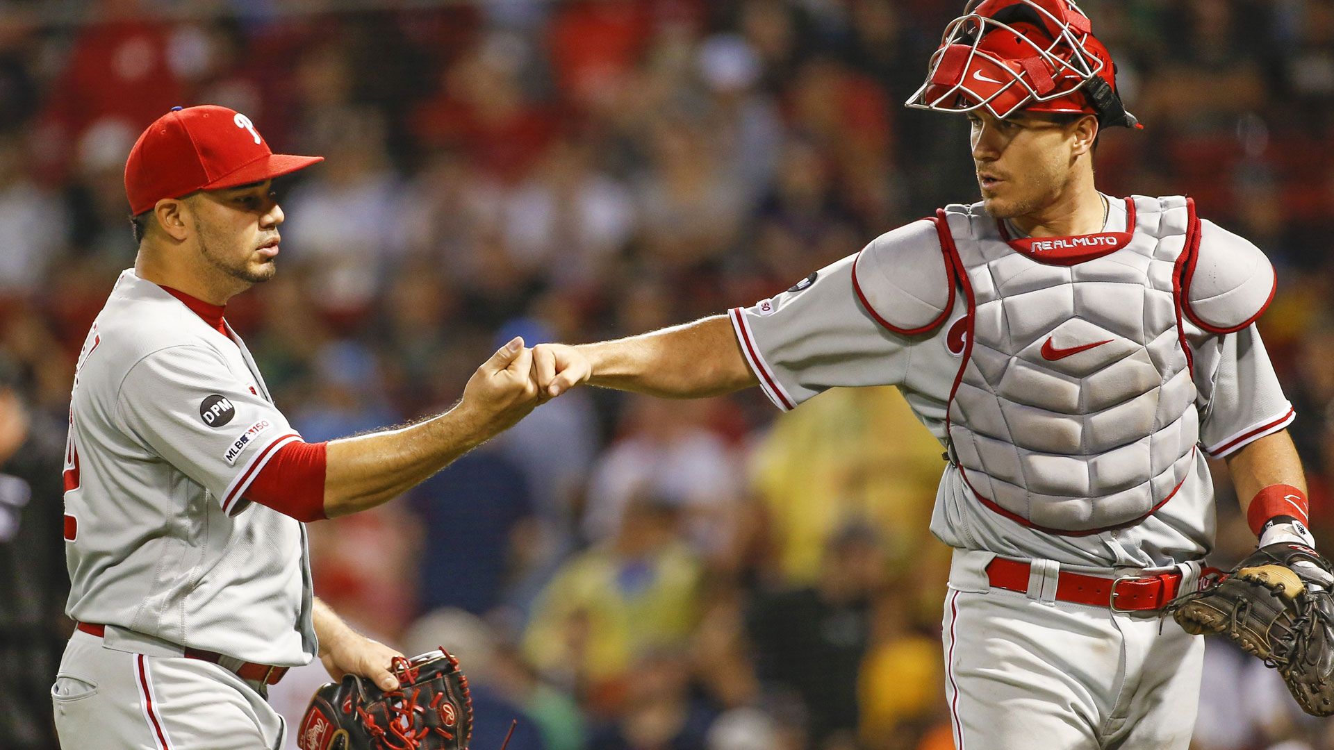 New acquisitions in Phils' bullpen shine in Boston
