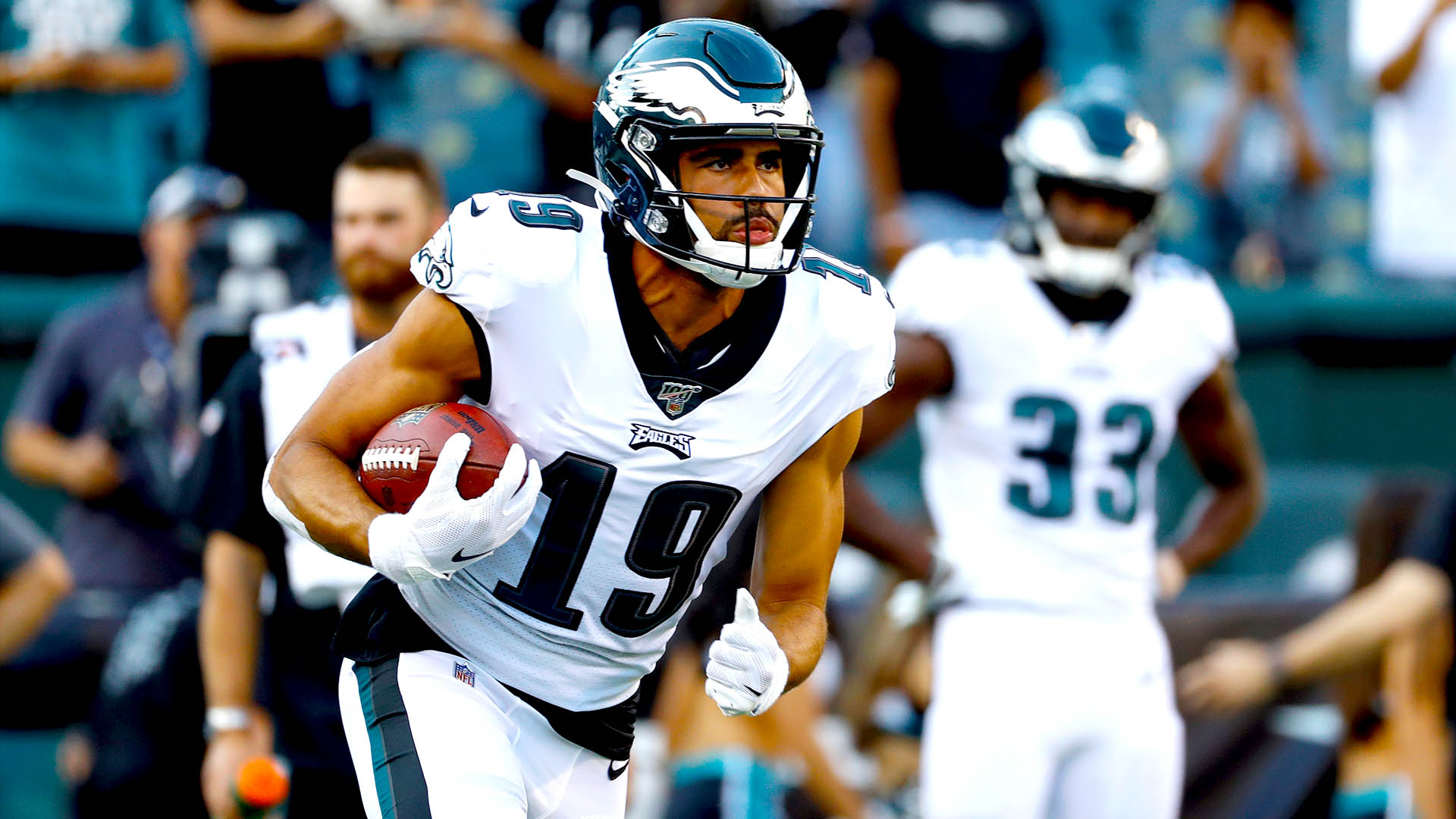 Eagles WR's stock rising fast after explosive performance