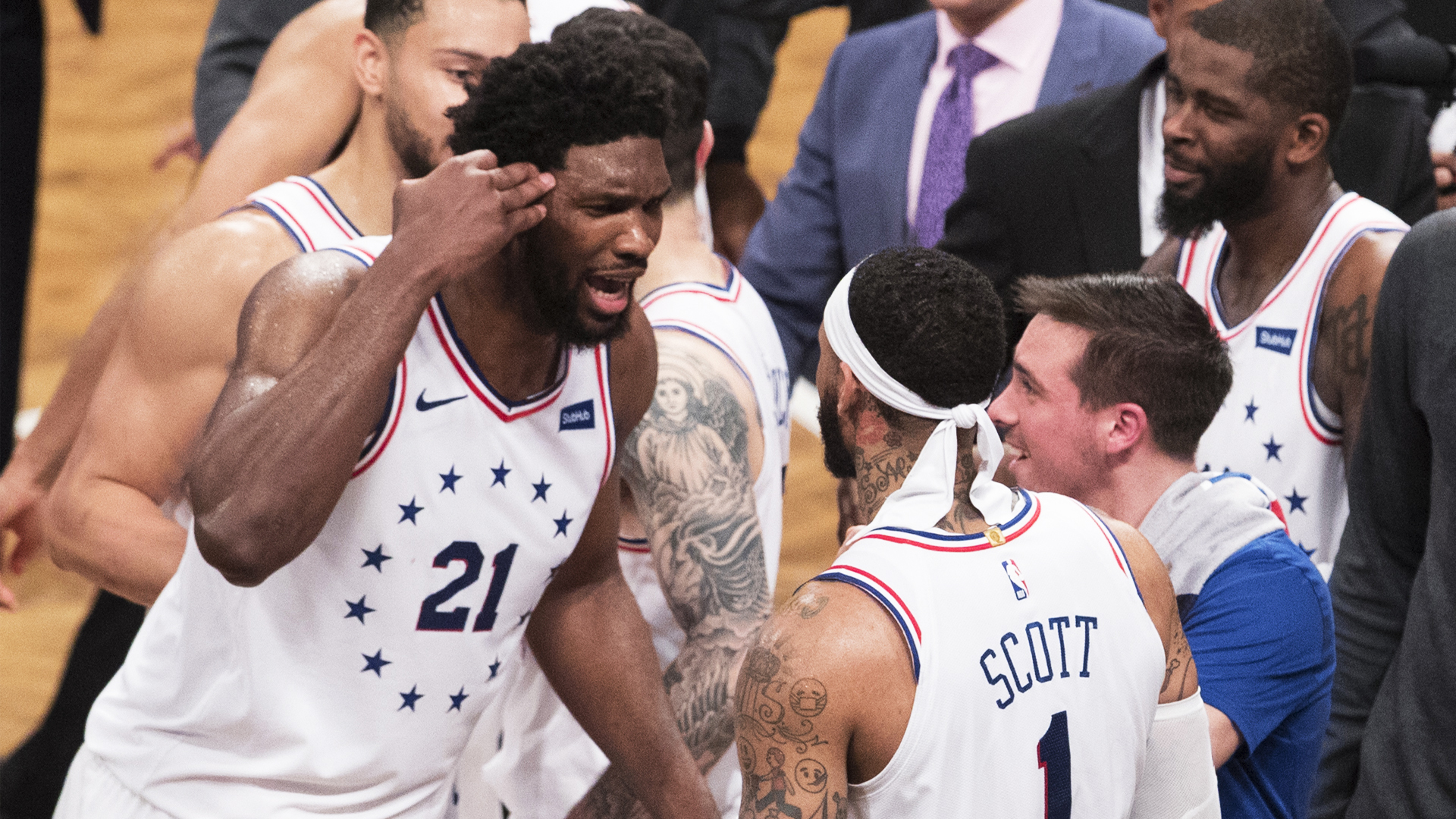 Sixers come out on top against Nets in Game 4 thriller