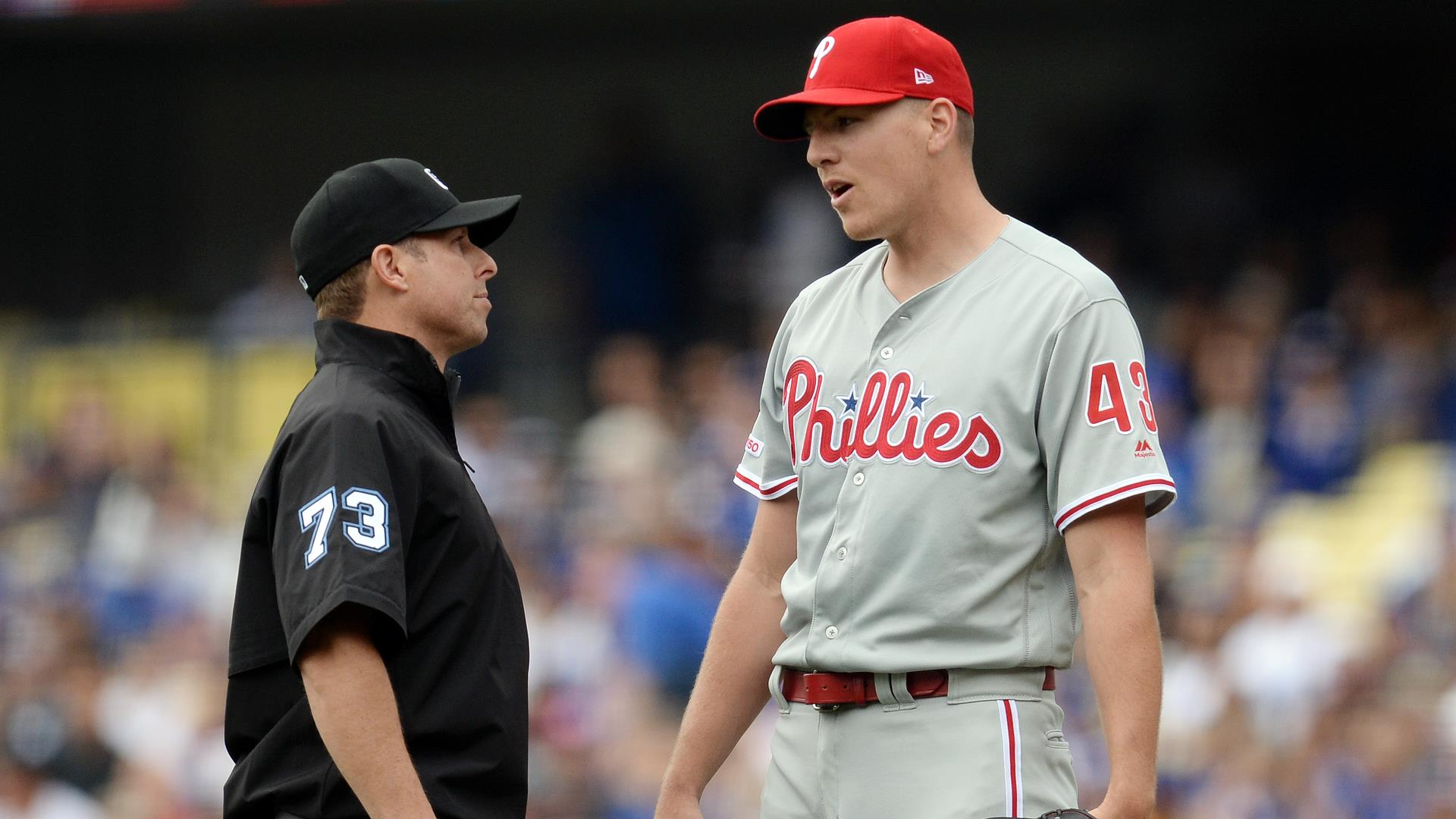 763105092ff Playing now. Phillies. Phils get swept for first time this season, fall to  Dodgers
