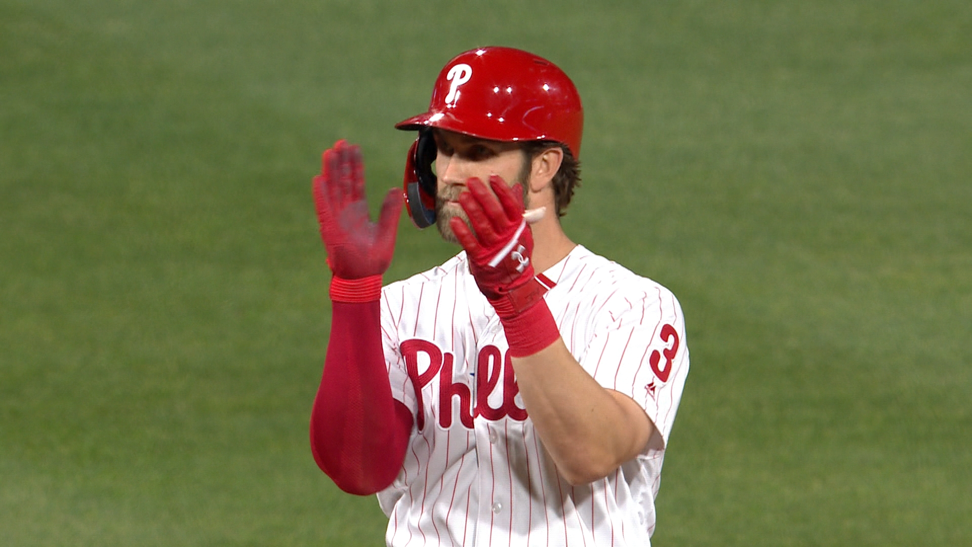 d26ebfcd5 Bryce Harper gave the perfect gift on the Phillie Phanatic s ...