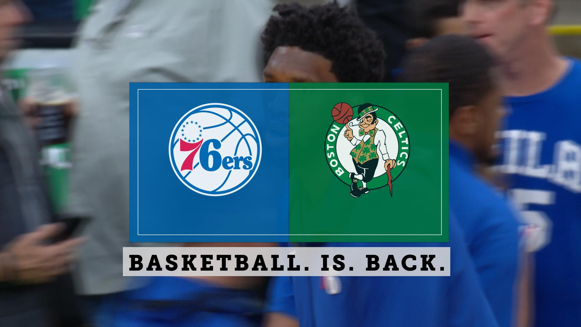 Unfortunately, the same old story for the Sixers loss to the Celtics
