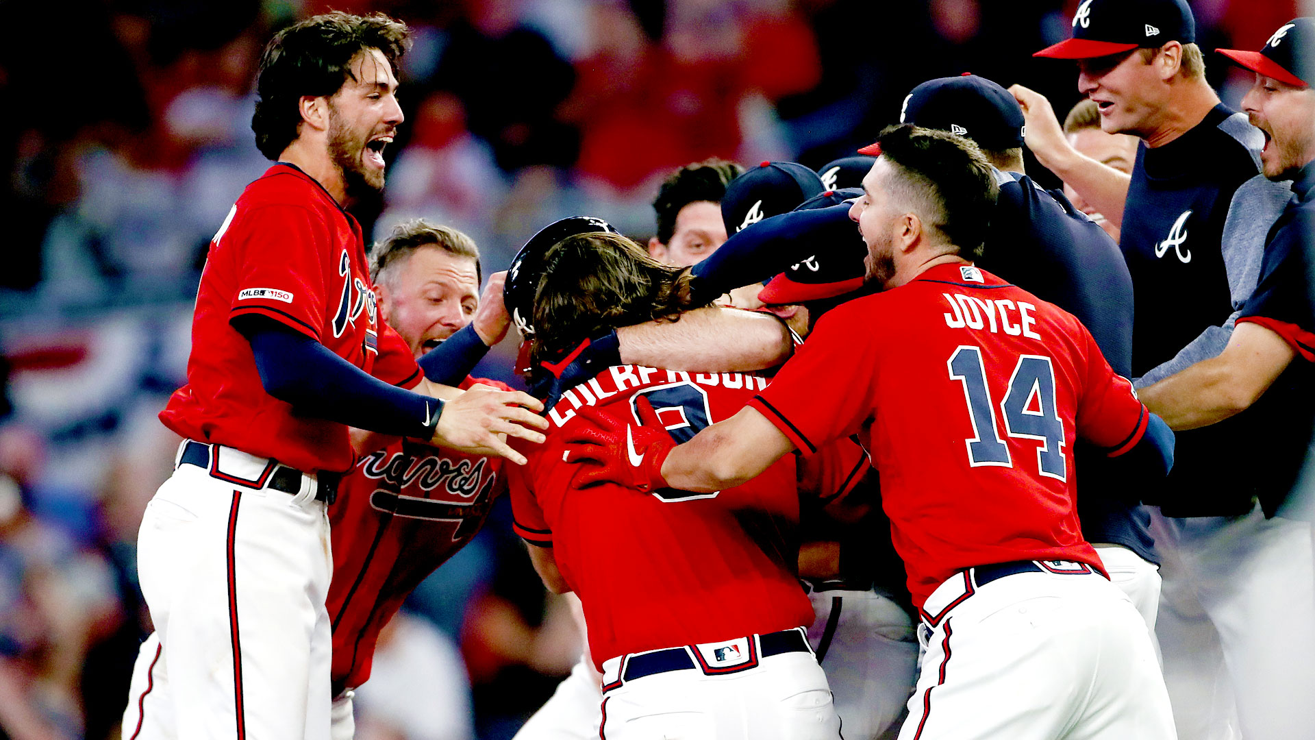 A tomahawk straight to the heart as Phillies collapse late to the Braves