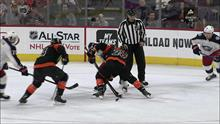 phil varone s first goal as a philadelphia flyer nbc sports