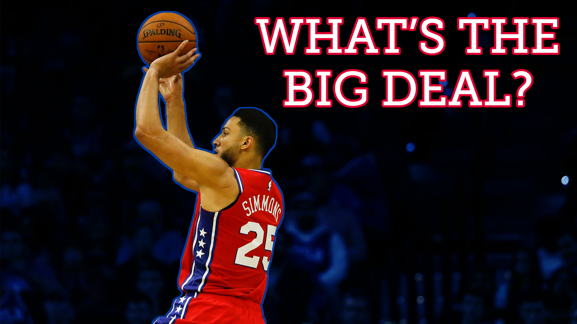What's the big deal? Four wacky Ben Simmons 3-point stats