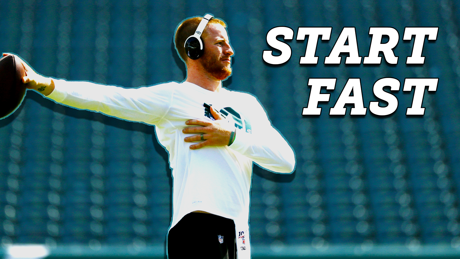 Carson Wentz, Eagles ready to correct slow start issue in Week 3