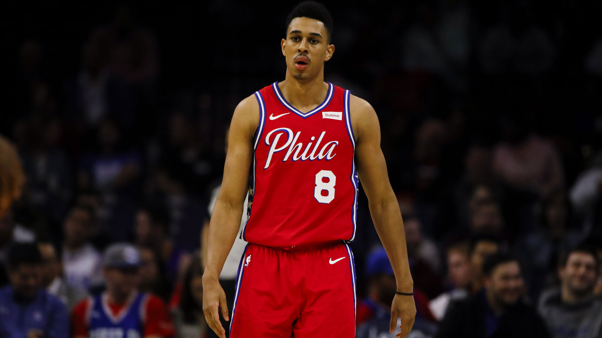 Sixers show they have faith in Zhaire Smith for the future