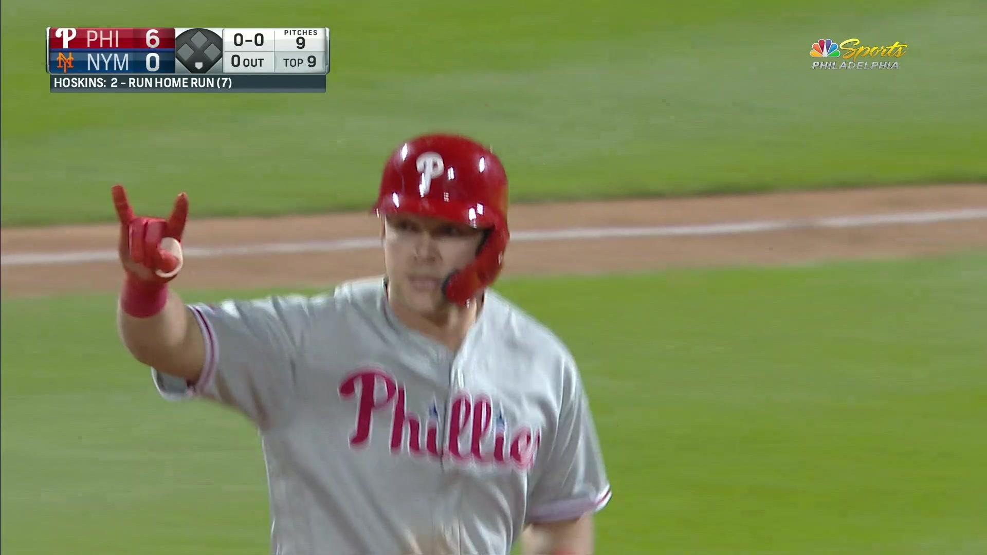 Watch for the Rhys Hoskins home run, stay for the 34 second trot