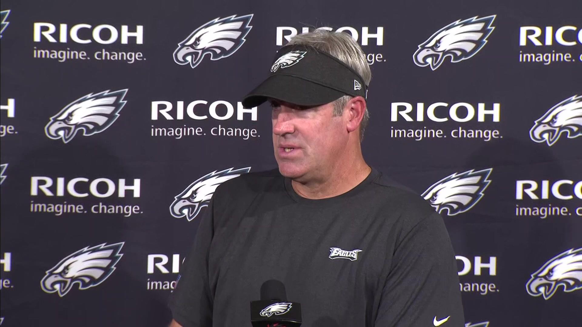 Pederson sees Wentz 'opening himself up to' Eagles' offense