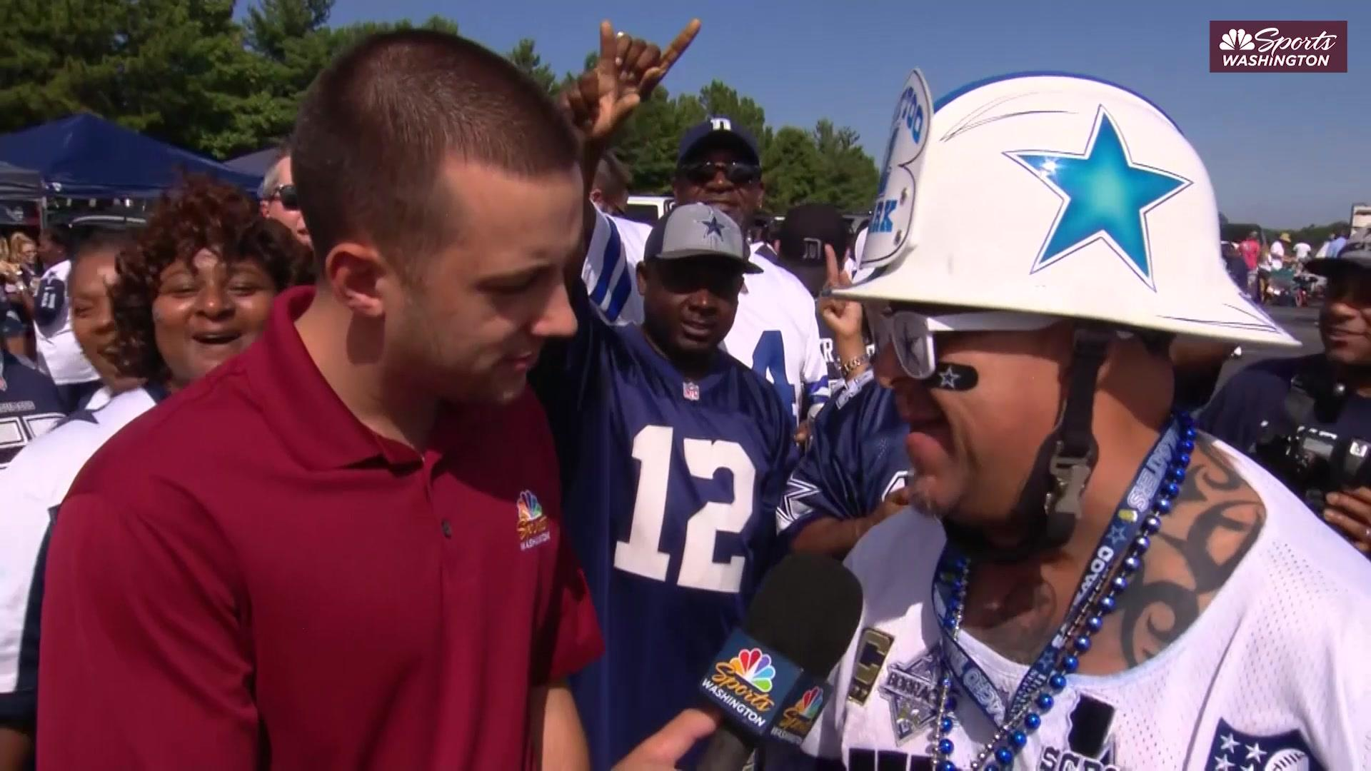How well do Cowboys fans at FedEx know their team? An investigation