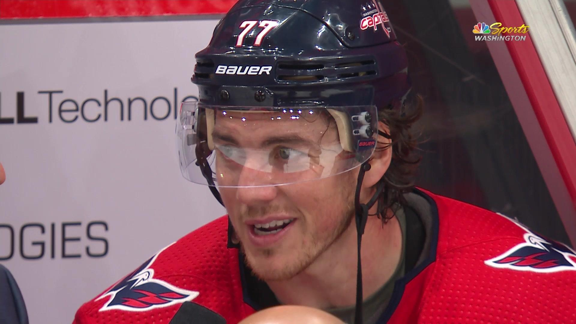 T.J. Oshie: Nationals-Capitals support is what makes a 'great sports