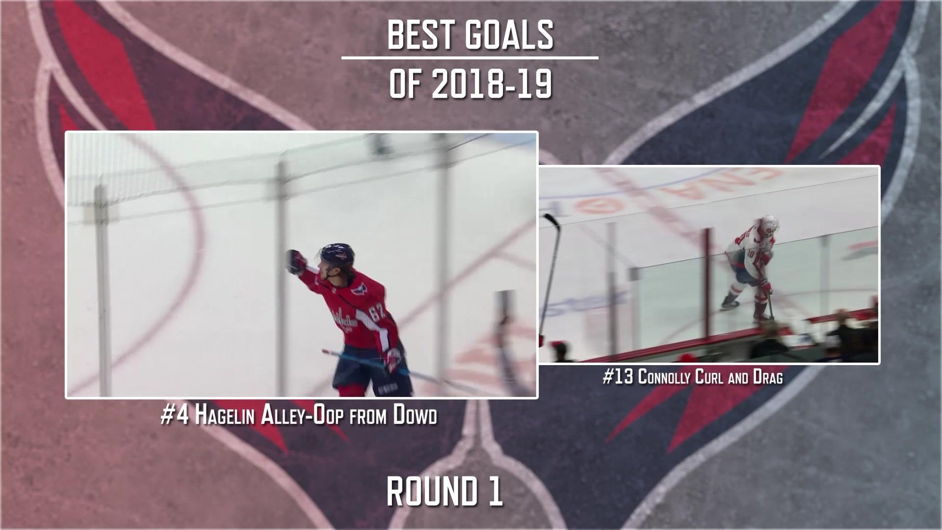 Capitals Goal of the Year: Hagelin's breakaway vs Connolly's curl and